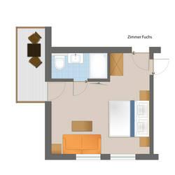 Doppelzimmer Fuchs